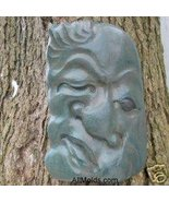 Tree Face concrete plaster cement casting mold - $22.00