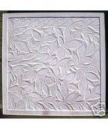 Square Leaf concrete cement stepping stone mold - $26.95