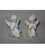 Vintage Bone China Miniature Angel Set Napco Napcoware Japan