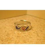 MEN WOMEN UNISEX SILVER PLATED BAND SIZE 8 #980 - $8.99