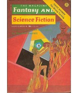The Magazine of Fantasy and Science Fiction Sep... - $4.00