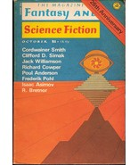 The Magazine of Fantasy and Science Fiction Oct... - $4.00