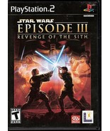 Star Wars Episode III Revenge of the Sith PS2 v... - $7.95