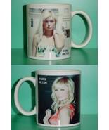 Paris Hilton 2 Photo Designer Collectible Mug 02 - $14.95