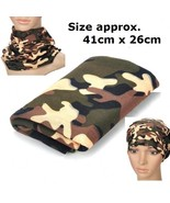 Camouflage Neck Tube Head Neck Scarf Bandana Un... - $3.69