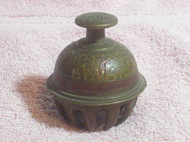 Brass Elephant Bell from India to alert passerby