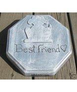 Dog Pet Grave Marker concrete plaster cement mold - $26.95