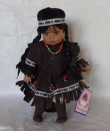 Porcelain Collectors Doll Native American Girl ... - $30.00