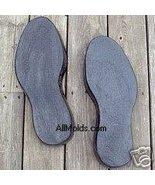 Shoe Prints concrete plaster cement stepping st... - $32.00