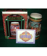 1997 Budweiser Holiday Stein, Home For The Holiday's