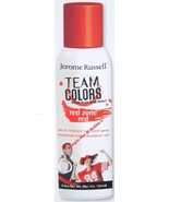 Jerome Russell TEAM COLORS Hair Color Spray RED... - $4.99