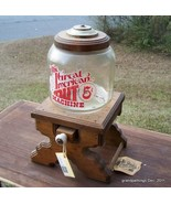 Vintage Great American Nut Machine! 5 Cents! Gl... - $125.00