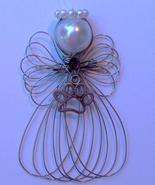 Paw Print Pet Angel Ornament Handmade - $7.65