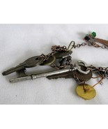 Urban Chatelaine Steampunk Style Necklace RKS89 - $150.00