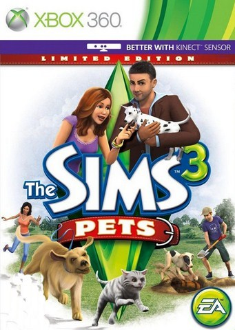 The Sims 3 Pets: Limited Edition, xbox 360 game