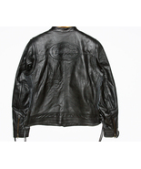 Harley Davidson Black Leather Jacket Cambria Wo... - $225.00