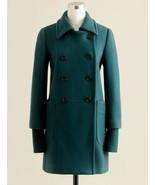 2011 NEW J CREW Academy Italian Wool Coat Jacke... - $149.99