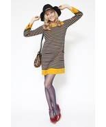 NEW Sonia Rykiel Milano Stripe sweater Wool Dre... - $179.99