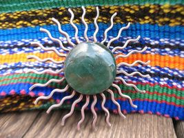 Vintage Mexico sterling silver watch hanger pin... - $90.00