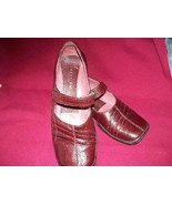 Kenneth Cole Reaction Burgundy Leather Shoes  ... - $10.00