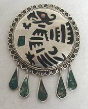 Mexican Taxco Silver Vintage Pin - San Antonio - Bonanzle :  pin mexican mexican silver jewelry affordable jewelry