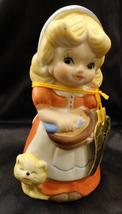 Jasco Adorablelles 1970's Bisque Porcelain Bell - $4.99