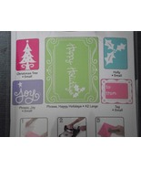 Sizzix embossing folders Textured Impression Ch... - $22.99