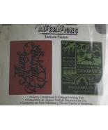 Tim Holtz Alterations Sizzix emboss folders Mer... - $12.99