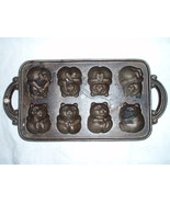 John Wright classic Gourmet bear cast iron mold