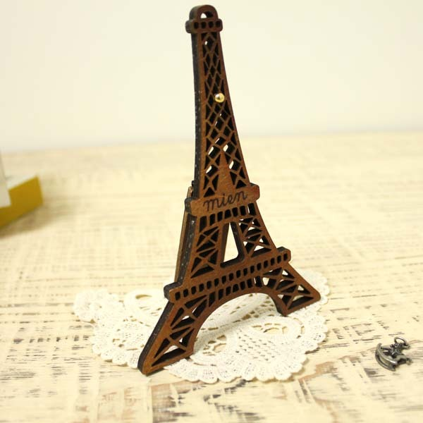 Eiffel Tower Wood Decor