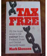 1983~Tax Free How to Book Legal Ways to Not Pay... - $3.99