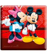 MICKEY MOUSE & MINNIE KISSING DOUBLE LIGHT SWIT... - $9.99