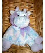 Bestever Plush Purple Tie Dye Lovey 8
