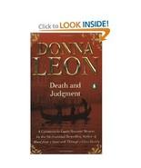 Donna Leon Death and Judgement Guido Brunetti T... - $1.00
