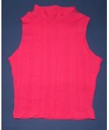 Cheryl Creation Hot Pink Sleeveless Mock  SM  NWOT - $5.99