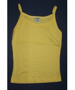 The Cotton Factory Yellow Spaghetti Strap Tank ... - $3.99