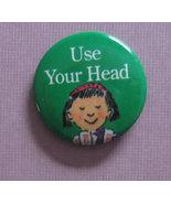 American Girl grin pin #149 Use Your Head 1994 ... - $0.99