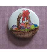 American Girl grin pin button #74 Easter basket... - $0.99