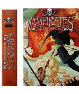 Vampirates 3: Blood Captain by Justin Somper 1s... - $7.00