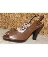 Ladies Bongo slingback Shoes Size 9 - $15.00