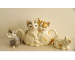 Buy Matching Sets - Kitty Cats Teapot and Matching Sugar Bowl and Creamer from H