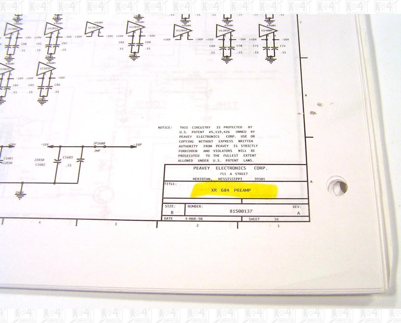 peavey 8500 powered mixer manual