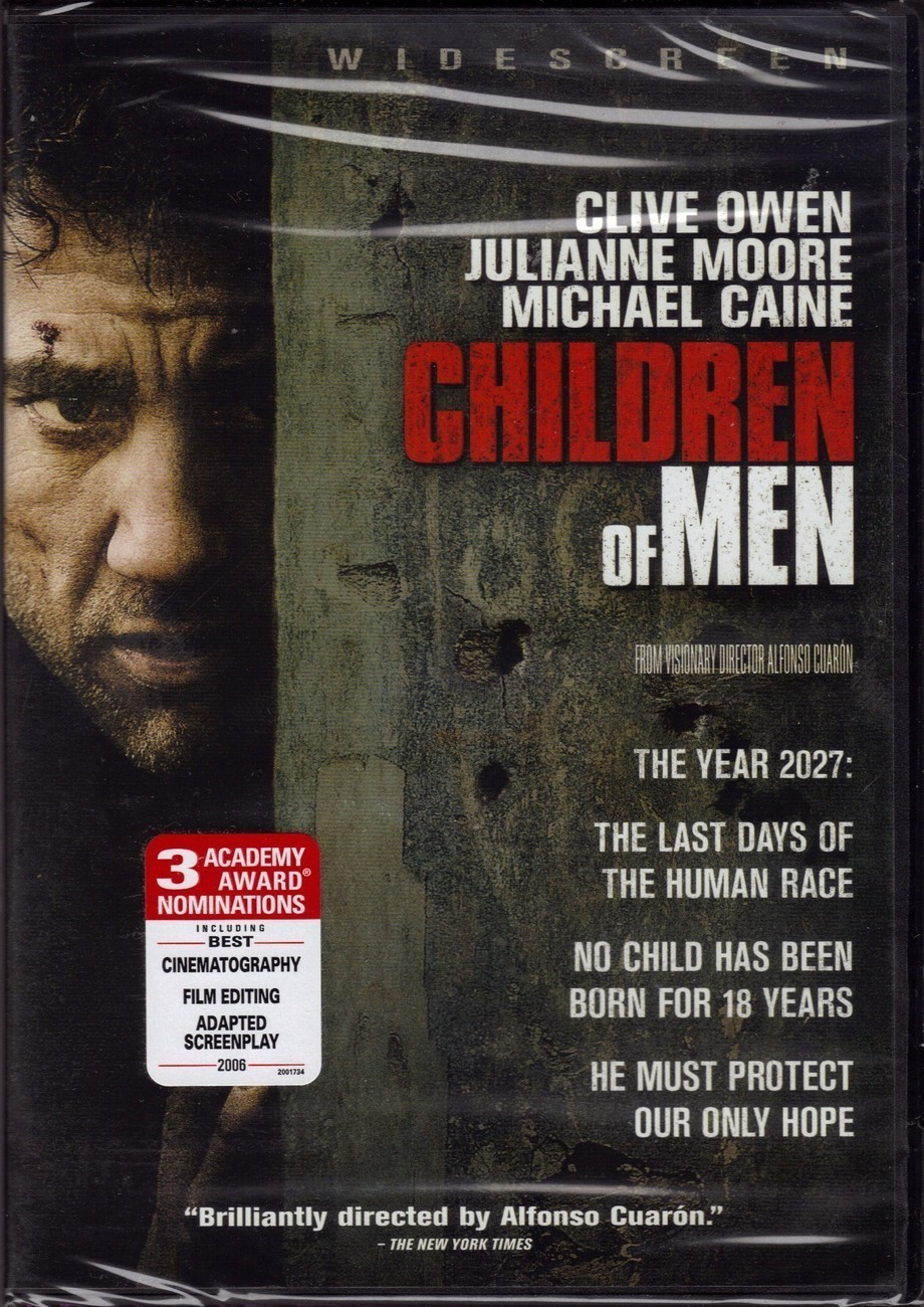 Children Of Men (Widescreen) - New Sealed DVD