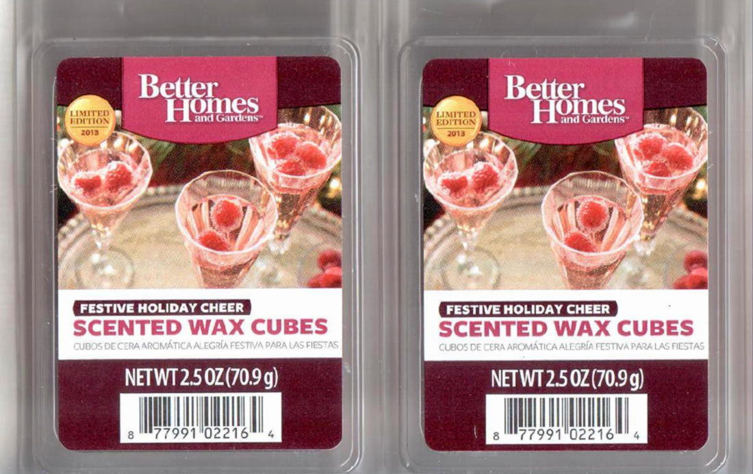 Festive holiday cheer better homes and gardens scented wax - Better homes and gardens scented wax cubes ...