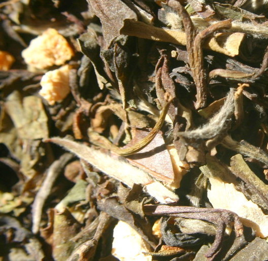 Tangerine White Loose Tea ORGANIC 4oz