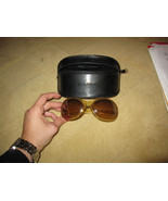 D&G Dolce Gabbana Plastic Gold Sunglasses  - $87.30