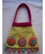 RISING TIDE Felted Wool Whimsy Purse/Handbag - $19.99