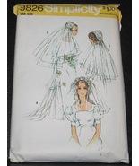 Simplicity sewing pattern 9826 Bridal  Headpiec... - $4.50