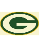 Latch Hook Rug Pattern Chart: GREEN BAY PACKERS... - $5.75