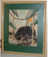 Exotic Panther Watercolor Prints Signed, Sherrill Graves - $795.00